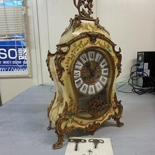☆置時計☆D M C ・クロック アンチック スタイルロック 210