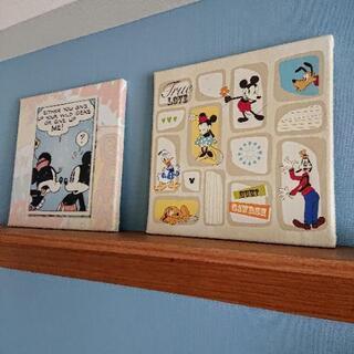 ディズニー 壁掛け ファブリックボード(パネル)
