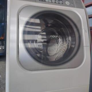 SANYOドラム式洗濯機AQUA引き取り限定