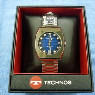 未使用品 TECHNOS テクノス メンズ腕時計 ボラゾン クオ...
