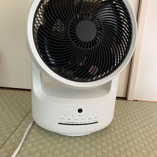 衣類乾燥機能付きサーキュレーター(扇風機・温風機もこれ1つでOK)