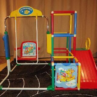 折りたたみ式 ジャングルジム ブランコ 滑り台 鉄棒 複合遊具 ...