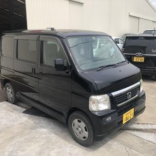 平成20年 バモス M 黒色 車検付き