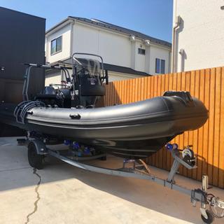 新艇インフレーター RIBボート520(17ft) 新品ヤマハ7...