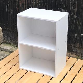 コーナン 2段カラーボックス ホワイト