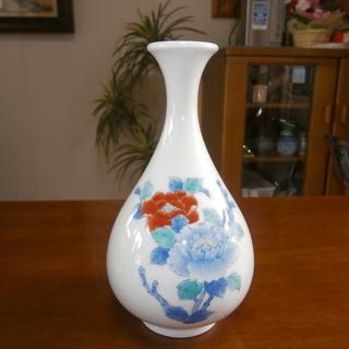 こだわりの! 鍋島焼 忠山 花瓶 (中古・良品)