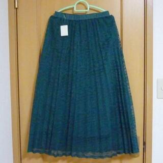 【新品!】AMERICAN HOLIC レースロングプリーツスカート