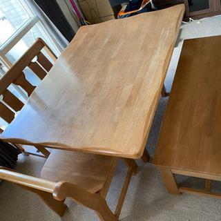 木製ダイニングテーブルセット(只今商談中です。)