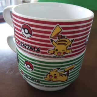 ポケモン マグカップ 2個セット スープマグ ピカチュウ ポカブ...