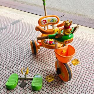 [交渉中]★プーさん★三輪車★使用感あり