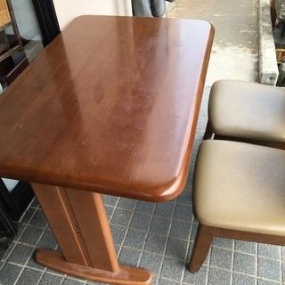 ダイニングテーブルセット 椅子✖️2