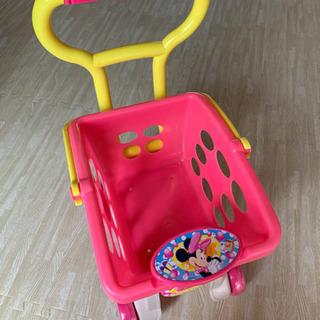 ディズニー お買い物カート&カゴ おもちゃ
