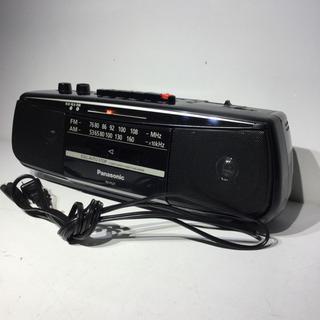 #3732 パナソニック ステレオラジオカセットレコーダー RX...