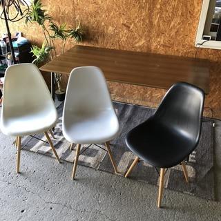 ダイニングセット  椅子3つ