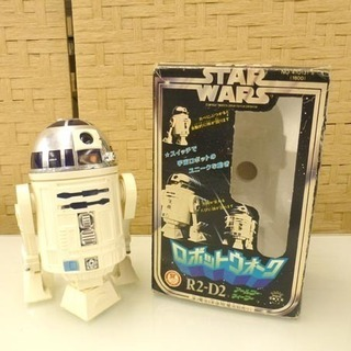 希少 レア 旧タカラ ロボットウォーク R2-D2 レトロ 昭和...