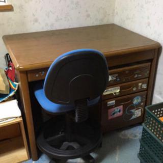 学習机と袖机 *椅子無し