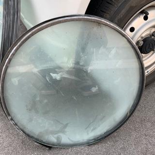 円形強化ガラス 直径50cm 7枚 直径40cm 4枚