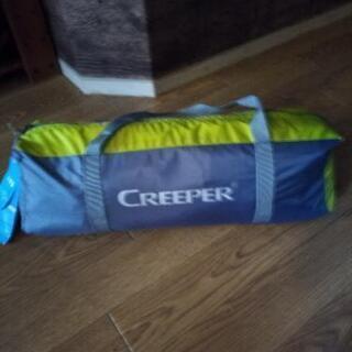 新品同様 1人用テント creeper おうちキャンプ