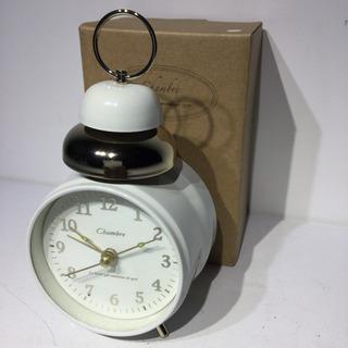 #3760 置き時計 ホワイト
