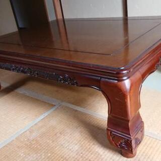 和室テーブル(こたつですが、使えません)