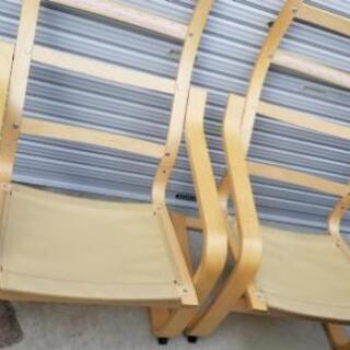 売れなければ処分します! IKEAの椅子 2脚 ポエング