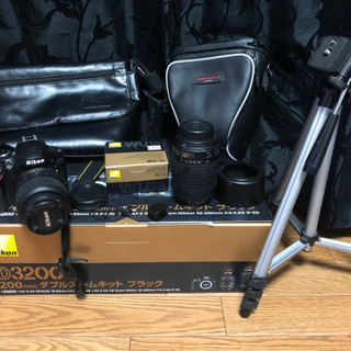 Nikon D3200 ダブルズームキット BLACK  ...