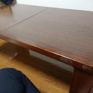 【譲ります】伸縮リビングテーブル
