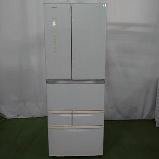 【商談中】東芝 6ドア冷蔵庫 GR-F51FS(WS) 510L...