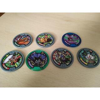 7枚の妖怪メダル  妖怪ウォッチ