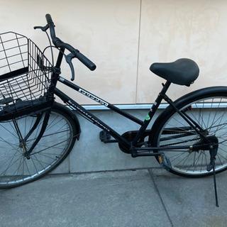 自転車取引中