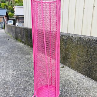 【梅雨の気分リフレッシュ】メッシュメタル傘立て【通気性✴︎抜群】...