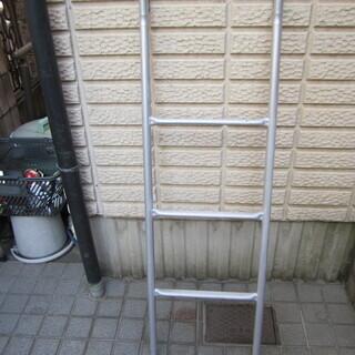 ☆彡 2段ベット用はしご シルバー製 ☆彡