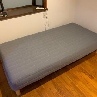 ニトリ シングルベッド 無印ベッドシート