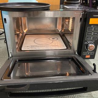 ツインバード フラットオーブンレンジ MW-FS18 2019年製