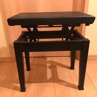 ピアノ キーボード 椅子(高さ調整可能)