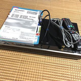 SHARP AQUOS ブルーレイレコーダー BD-W560  ...