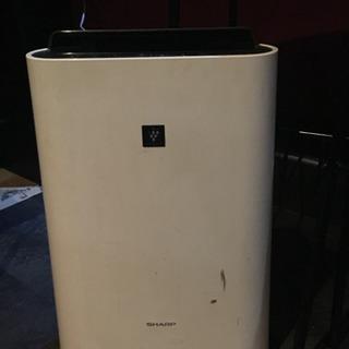 SHARP 空気清浄機 KC-f50-W プラズマクラスター