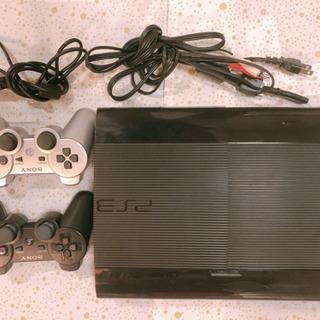PS3 プレステ3 本体 コントローラー2つ 動作確認済み
