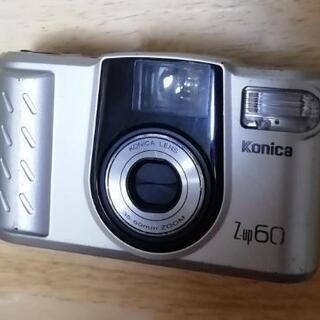 フィルムカメラ Konica Z-up60(動作未確認)
