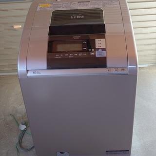 日立 beat wash 洗濯機 BW-D10SV 10キロ 2...