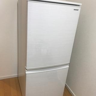 SJ-D14E-W 冷蔵庫 シャープ 2019年製 137L