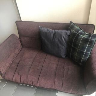 茶色のソファー
