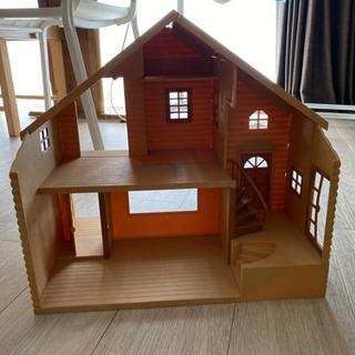 シルバニアハウス赤い屋根のお家