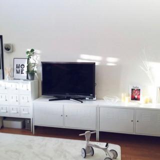 【完成品】IKEA キャビネット1年間使用