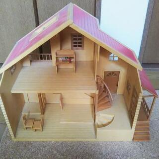 シルバニア ハウス 赤い屋根の家