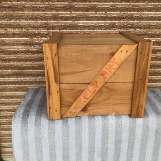 無垢材 収納箱 木製ケース 道具箱 おもちゃ箱