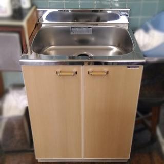 高さ800レマン単層流し台 キッチン理美容 使用僅か