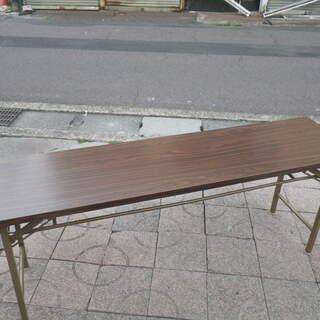 配達可 長机 折りたたみテーブル  会議テーブル 幅1800×奥...