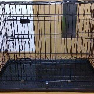 🐶犬用ゲージ(2~3週間程度使用、折りたたみ可)と未使用ウォータ...