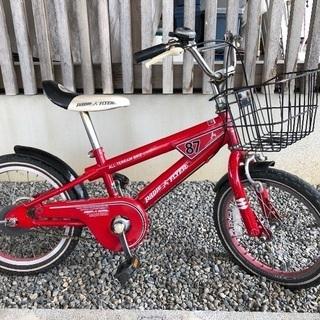 ラジオフライヤー自転車16インチ男の子女の子男女兼用赤色